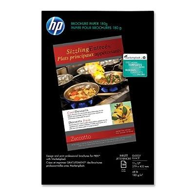 HP Brochure Inkjet Paper, Glossy 11x17, 150 sht