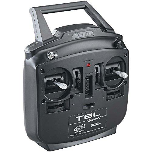 Futaba Transmitter Case (Futaba 6L Sport 2.4GHz Tfhss 6-Channel Radio Control RC Mono Directional Air Transmitter System with R3106GF Rx Receiver (No Servos))