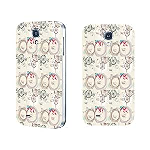 Vintage Series Designed High Impact Cell Phone Case Skin Cover for Samsung Galaxy S4 (fashion ribbon BY819)