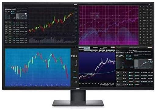 Dell U4320Q 43 Inch 2160p 4K UltraSharp, IPS Thin Bezel Monitor, HDMI, DisplayPort, USB-C, VESA Certified, Black