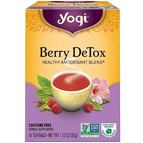 Yogi Herbal Tea Bags, Berry DeTox 16 ea ( pack of 2) ()