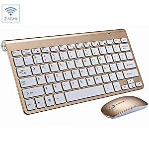 jumowa wireless keyboard and mouse replacement for mac macbook pro computer small. Black Bedroom Furniture Sets. Home Design Ideas