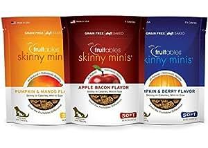 Fruitables Skinny Minis Apple Bacon, Pumpkin berry, Mango - Variety Pack