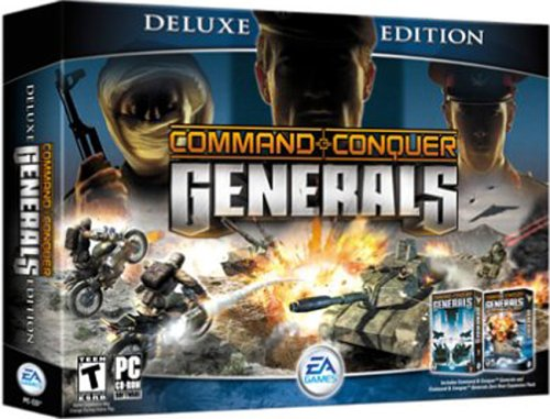 Command & Conquer: Generals - Deluxe Edition (Command & Conquer: Generals / Generals: Zero Hour Expansion Pack) [UK Import] (Command And Conquer Generals Zero Hour Strategy)