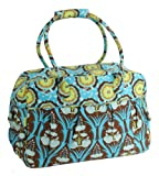 Amy Butler Take Flight Carry-On Bag,Passion Lily Turquoise,one size
