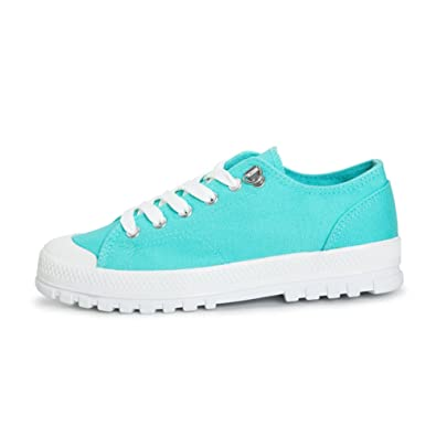 Casual Fashion dicken verschleißfesten Leinwand/ Schuh-Schnürung Schuhe/ die kleinen weißen Schuhen Studierenden-A Fußlänge=23.8CM(9.4Inch) D8Ej9bkmR