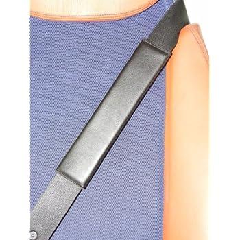 GTI negro piel cintur/ón de seguridad Hombreras piel sint/ética