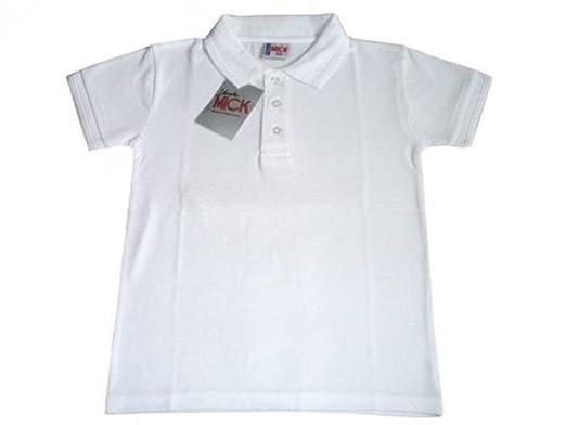 fffc1f1e Laika Designs School Uniform Kids Boys Girls Pique Polo Shirt Tshirt White  11-12 Years: Amazon.co.uk: Clothing