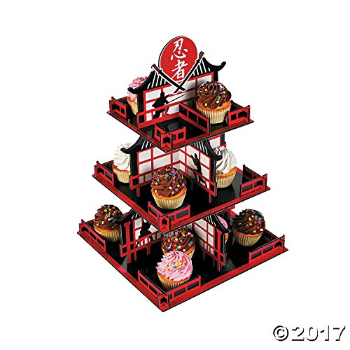Fun Express Ninja Cupcake Holder