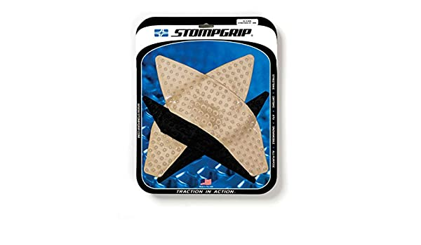 Automotive CLEAR Stomp Grip Traction Pads 15-19 YAMAHA YZF-R1 ...