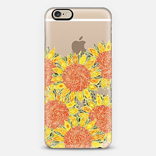 Casetify Sunflowers Forever iPhone 6 Case (Frosty White)