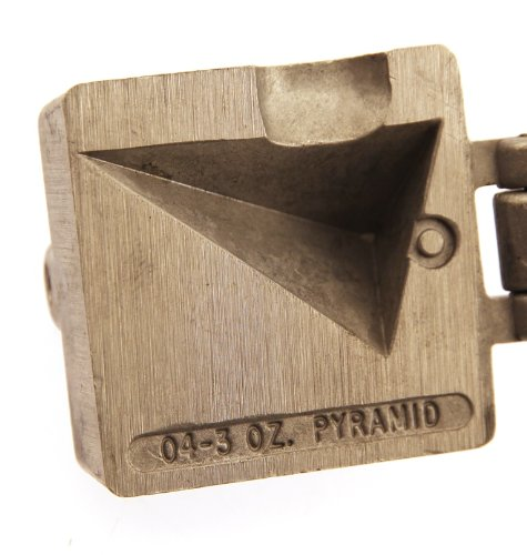 LIL MAC MIDGET Fishing Do it yourself Mold - Pyramid Sinker