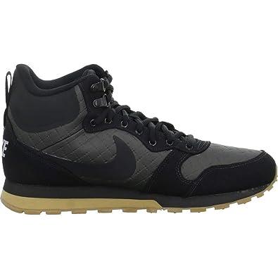 new arrivals 1a6fa 969b9 Nike Herren Md Runner 2 Mid Prem Trekking-   Wanderstiefel Schwarz Black Gum  Light