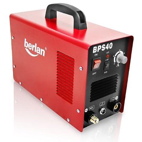 Berlan BPS40 - Sistema de corte por plasma, 230 V, 20 - 40 A: Amazon.es: Bricolaje y herramientas