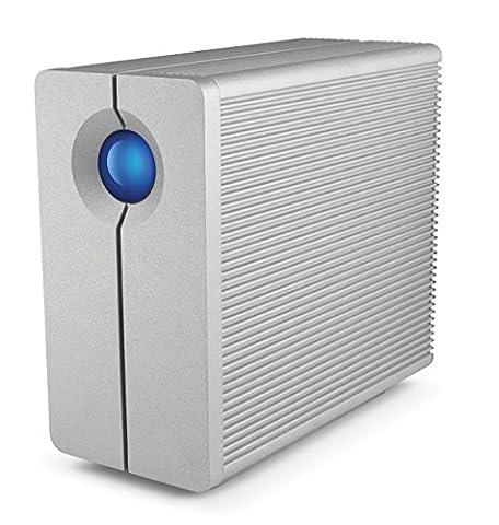 LaCie 2big Quadra USB 3.0 / FireWire800 2-Bay RAID Hard Drive 10TB (9000495) (10tb Usb Hard Drive)