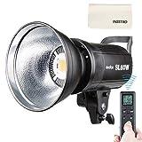 Godox SL-60W 60W LED Studio Light,5600±300K Remote Control, Continous LED Lighting with Bowens Mount for Outdoors,DSLR, Canon, Nikon, Pentax, Panasonic,Sony, Olympus Digital SLR Cameras