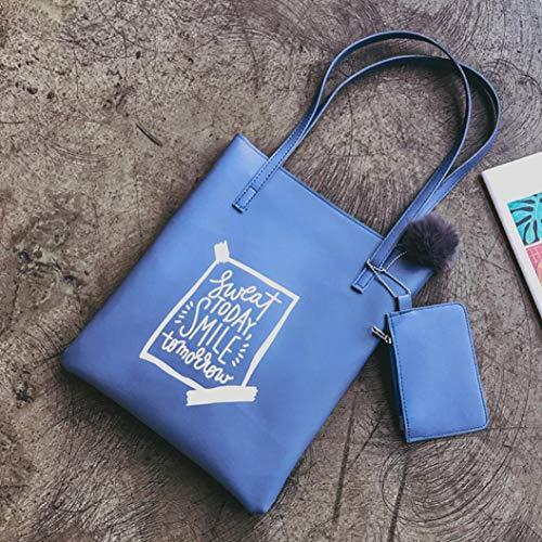 showsing à pour Main s Sac Femme Handbag Bleu Bleu r7qEwr