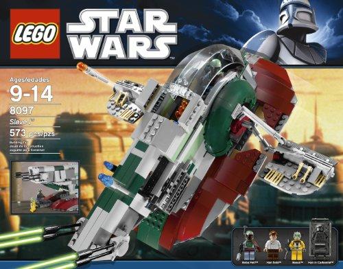 Amazon.com: LEGO Star Wars Slave 1 8097 Version 2010 Release: Toys ...