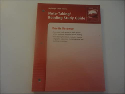 McDougal Littell Science Note Taking Reading Study Guide