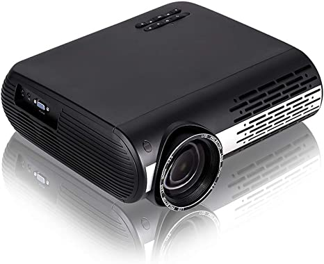 Gzunelic 6500 Lumens LCD LED Video Smart Projector Android OS Bluetooth Built in 2 HI-FI Sound Boxes WiFi 1080P Full HD Theater Proyector with 2 HDMI ...