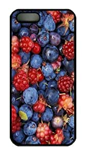 Alaska Wild Berries Polycarbonate Hard Case Cover for iPhone 5/5S Black