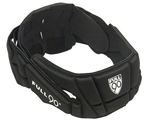 Full 90 Sports Premier Performance Soccer Headgear, Black, Small/Medium
