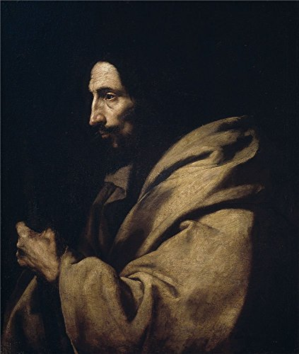 Oil Painting 'Ribera Jose De San Judas Tadeo 1630 35 ' Printing On High Quality Polyster Canvas , 18 X 21 Inch / 46 X 54 Cm ,the Best Basement Decoration And Home Gallery Art And Gifts Is This Best Price Art Decorative Prints On Canvas