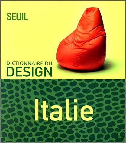 Lire un Dictionnaire du design : Italie pdf, epub ebook