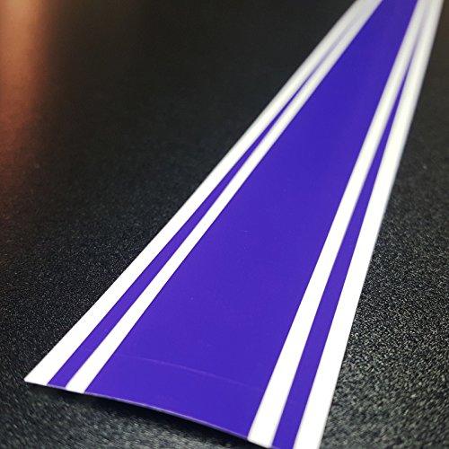 "ORACAL 2""x72"" Vinyl Racing Stripe Decal 651 (Purple - 273C)"