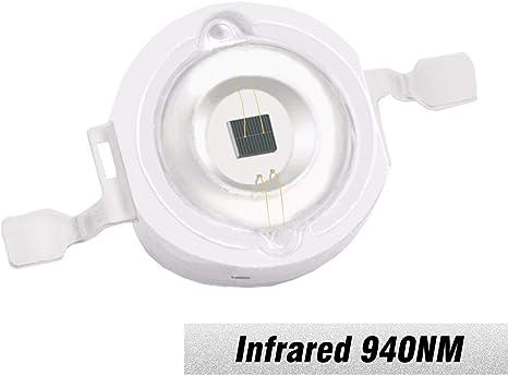 10W High Power LED chip Lamp Bead Infrared IR Light 940nm