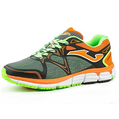 Joma R.Scrosw-601, Zapatillas de Deporte para Hombre verde,naranja