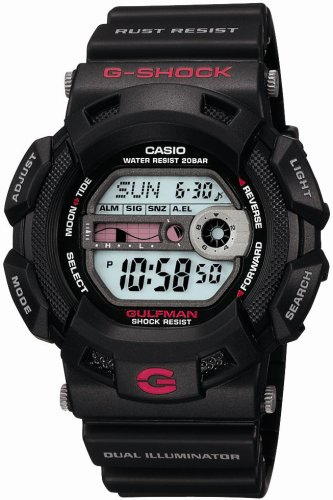 CASIO watches g-shock 'GULFMAN DUAL ILLUMINATOR G-9100-1JF