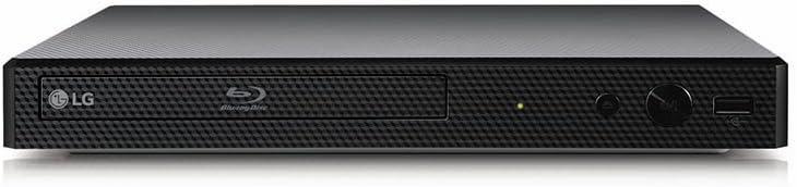 LG BP350 Streaming Wi-Fi Built-In Blu-ray Player Black - New