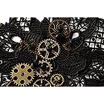 KOGOGO Steampunk Lace Bracelet Lolita Wrist Cuff with Gears 8