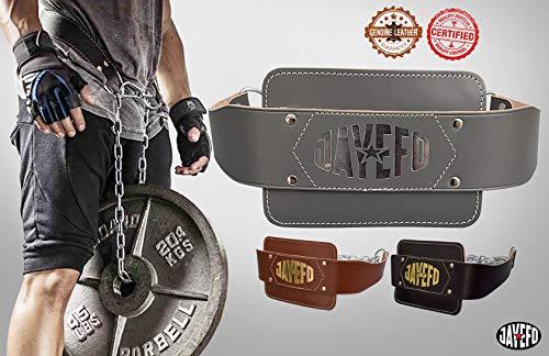 Jayefo Leather DIP Belt (Brown)