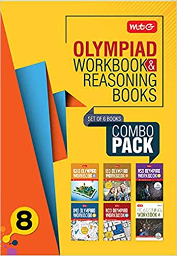 Buy Class 8: Work Book and Reasoning Book Combo for NSO-IMO