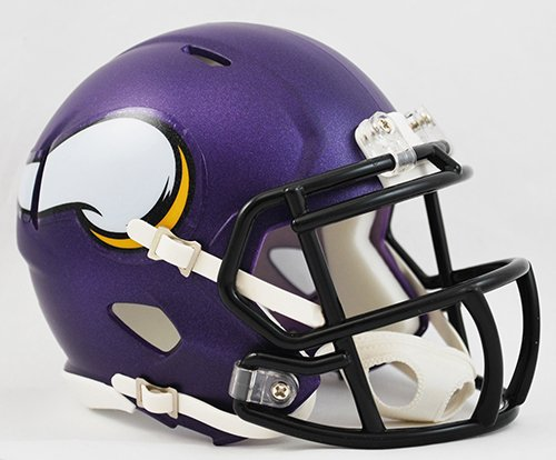 - Minnesota Vikings Riddell Revolution Speed Mini Football Helmet