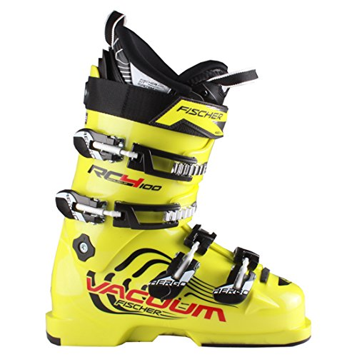 (Fischer RC4 100 Vacuum Junior Race Ski Boots 23.5)