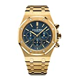 AP Audemars Piguet ROYAL OAK 41 Yellow Gold Navy Blue Dial 26320BA.OO.1220BA.02