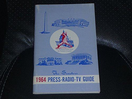 VINTAGE 1964 WASHINGTON SENATORS MEDIA GUIDE BEAUTIFUL SHAPE (Guide Beautiful)