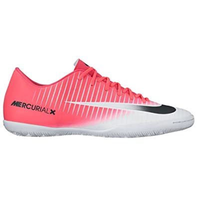 2b03f2f71 NIKE New Men s Mercurial Victory VI IC Soccer Shoe Racer Pink White 7.5