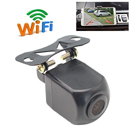GreenYi WIFI Backup Camera for iPhone/iPad, Wireless Car Rear View Camera for IOS and Android Smart Devices by GreenYi