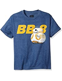 Big Boys' The Force Awakens BB-8 Droid Rolling T-Shirt