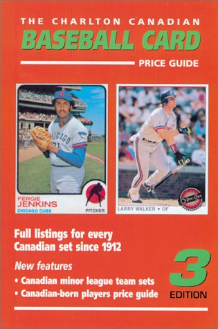 Canadian Baseball Card Price Guide 3rd Edition The Charlton