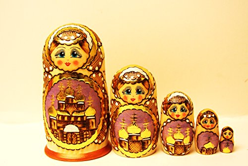 (Alkota Genuine Russian Collectible Nesting Doll