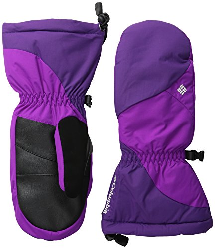 Columbia Women's Tumalo Mountain Mittens, Iris Glow/Bright Plum, Large