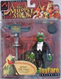 ToyFare Exclusive Master of Ceremonies Kermit the Frog Action Figure (2002 Palisades Toys) by The Muppets