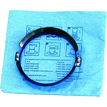 Stanley 20-1100 Blue Cloth Reusable Filter with Clamp Ring