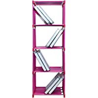 Sterling 4 Layer Book Shelf for Books, Toys Etc. 126 x 30 x 42 cm Pink Color 1 Pc