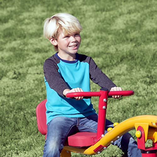 Gym Dandy Spinning Teeter Totter - Impact Absorbing Kids Playground Equipment - 360 Degree Rotation by Gym Dandy (Image #4)